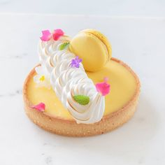 3,928 vind-ik-leuks, 31 opmerkingen - 𝒫𝒮𝓉𝒶𝓂𝒷ℴ𝓁𝒾ℯ𝓋𝒶 (@stamboli__) op Instagram: 'Lemon tart 🍋💛🍋 . . . . . . . #stamboli__ #tart #crostata #chebontà #tarte #gateau #cake…' Apple Cake Recipes, Tart Recipes, Moist Apple Cake, Pastry Art, Pastry Chef, Pie Tops, Eclair, Macarons, Cheesecake