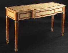 Adamson and Low - Gallery - Sycamore and Burr Yew HallTable
