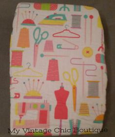 Beldray Ironing Board Cover Retro Vintage Sewing Shabby Chic