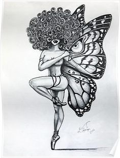 'Her Strength' Poster by BflybyDesign Girl Thigh Tattoos, Leg Tattoos Women, Tattoos For Women Half Sleeve, Shoulder Tattoos For Women, Tattoo Girls, Body Art Tattoos, Back Thigh Tattoo, Dope Tattoos For Women, Leg Sleeve Tattoo