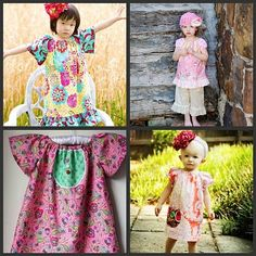 PDF/Downloadable Sewing Patterns by Whimsy Couture: Tops/Dresses Ebooks