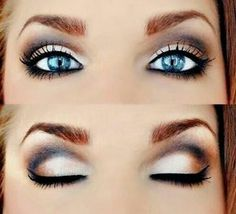 If I could do this my eyes would look even bluer!
