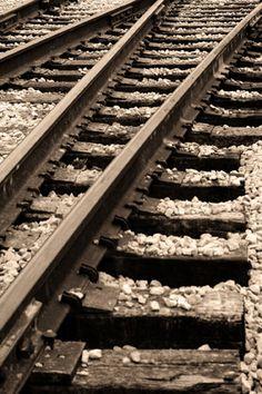 the journey.   (railroad tracks, Theodore Berry Park - David Walker Photography)