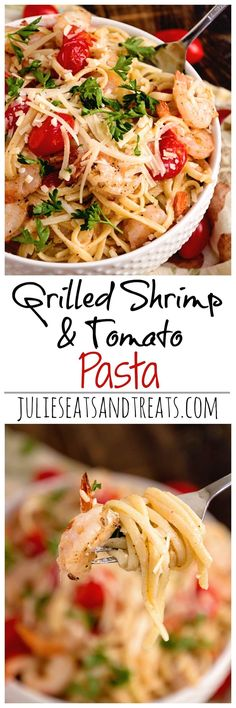 Grilled Shrimp & Tom