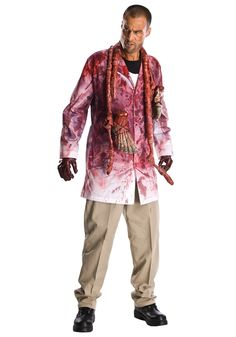 Vivacious The Walking Dead Rick Grimes Adult Costume. Lots of Ideas for Spooky & Horror Costumes for Halloween at PartyBell.