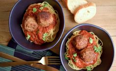 Lamb Ricotta Meatballs with Spaghetti and Marinara – Shop Homemade – Products by Ayesha Curry