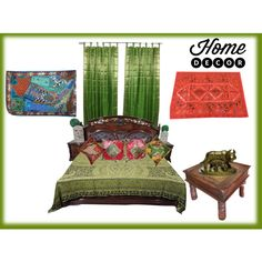 Home Decorative Ideas by era-chandok on Polyvore featuring interior, interiors, interior design, home, home decor and interior decorating
