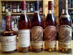 Such a pretty sight. Pappy Van Winkle in every form.  If anyone ever obtains all of these, I might possibly dub them the coolest cat in the room #bourbon #pappy #manssentials