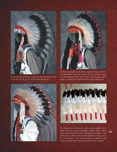The Plains Warbonnet: Its Story & Construction by Barry E. Hardin, Native American Headdress Book Preview