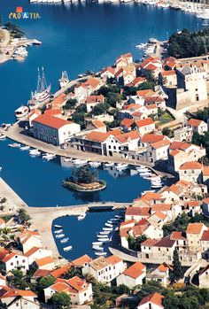 Vrboska on the island of Hvar, Croatia
