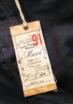 Details Matter – Really Cool Labels & Swing Tickets – Charles Luck Perspectives