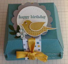 Saturday, May 24, 2014 Julia Luvs 2 Stamp: Hamburger-Cupcake Box Something to Say, Polka-Dot Pieces, Hamburger Box Bigz XL Die