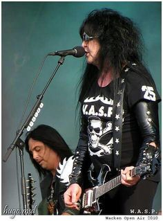 BLACKIE LAWLESS!! MIKE DUDA!