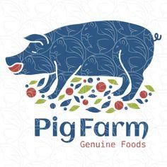 Pig Farm - Genuine Food Logo