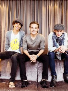Robert Sheehan, Kevin Zegers and Jamie Campbell Bower