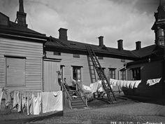 Bulevardi 16 - Annankatu 14.   Brander Signe HKM 1913   Helsingin kaupunginmuseo   negatiivi ja vedos, lasi paperi pahvi, mv