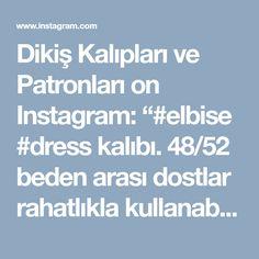 """Dikiş Kalıpları ve Patronları on Instagram: """"#elbise #dress kalıbı. 48/52 beden arası dostlar rahatlıkla kullanabilir. Bol, salaş ve rahat... Desteklemek için lütfen yorum yapınız &…"""" • Instagram"""