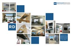 Lobby Showcase Construction Progress Images - Financial Services Client, designed by REMIGERDESIGN