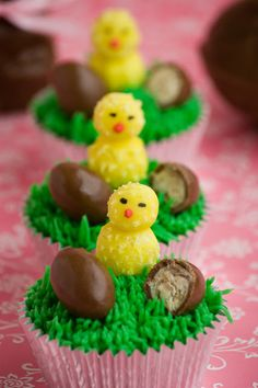 Cupcakes are my new love: Cupcakes de Pascua