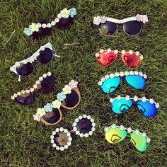 Flower sunglasses @Aimée Gillespie Song - Instagram coachella style