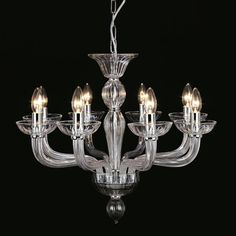 Impex Lighting Oasis 8 Light Candle-Style Chandelier & Reviews | Wayfair UK