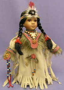 C Steele Collection Porcelain China Product Native American Clothing, Native American Beauty, American Girl Clothes, Native American Indians, American Dolls, American History, Native Americans, Native Indian, Yorkshire