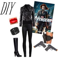 Diy black widow costume pinteres diy halloween costume black widow solutioingenieria Choice Image