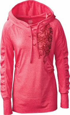 2635aec31d6 The Cabela's Women's Lightweight Hoodie is perfect for a springtime stroll  in the park. Country