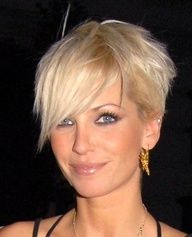 asymmetrical pixie. Ok. I think Im leaning towards something like this....haha...given all my pins about short asym hair!