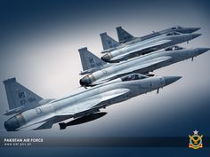"Pakistan Air Force Pakistan Aeronautical Complex/Chengdu JF-17 ""Thunder"" formation"