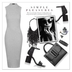 """Something Simple...."" by christinacastro830 ❤ liked on Polyvore featuring Topshop, Alexander Wang, Boyy, Vera Wang, Arabel Lebrusan, Sugarpill, women's clothing, women, female and woman"