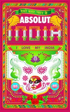 Absolut Vodka _India Packaging by Rajender Singh