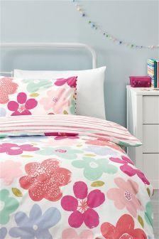 Bold Floral Bed Set