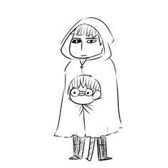 Kaneki and Amon