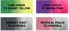 PRAVANA - VIVIDS MOOD COLOR hair changes color throughout the day