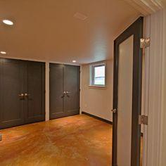 basement closet storage
