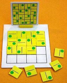 Jogo de lógica , para concentração , atenção , discriminação visual .