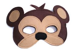 This MONKEY mask is designed for everyday fun, great for dress up and pretend play, ideal gift, perfect for themed birthday parties, party favor and