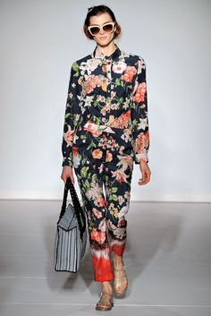 Look 16 Clements Ribeiro Spring 2013