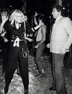Ron Galella Disco NYC: Suzanne Somers and Alan Hamel at Studio 54