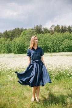 Linen dress, woman dress, summer dress, fashion dress