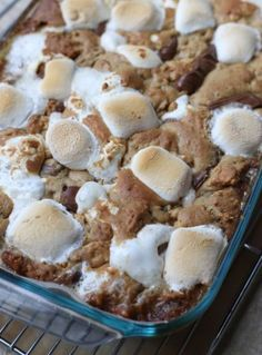 Summery S'more Bars