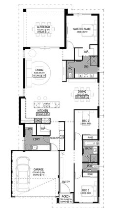 The Siena Floorplan by National Homes