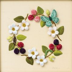 Jane Nicholas Embroidery  Just the pic for inspiration..