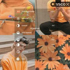 Find images and videos about photography, vsco and tutorial on We Heart It - the app to get lost in what you love. Photography Filters, Photography Editing, Vsco Hacks, Vsco Effects, Best Vsco Filters, Vsco Themes, Photo Editing Vsco, Aesthetic Filter, Vsco Presets