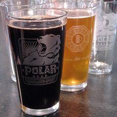 Polar Beer Pint Glass - lifestylerstore - http://www.lifestylerstore.com/polar-beer-pint-glass/