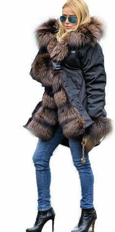 a76d2539037b 14 Best Winter coat images   Faux fur, Fur, Jackets