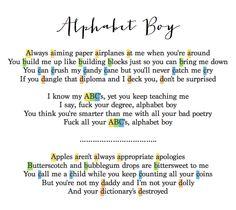 #Alphabet_Boy #MelanieMartinez