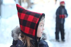 Blizzard Bonnet : Free Pattern and Tutorial // sweetkm for petit a petit and family