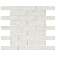 MSI Capella in. x 10 in. White Brick Glazed Porcelain Floor and Wall Tile sq. / – The Home Depot – Brick Tiles White Brick Backsplash, Subway Tile, Tile Floor, Wood Look Tile, White Brick Tiles, Flooring, Brick Farmhouse, Porcelain Flooring, Natural Stone Tile